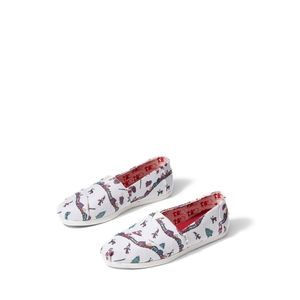 TOMS limited edition Santa Claus